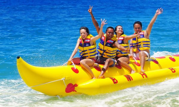 Banana boat watersports Brunei