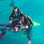 Padi Rescue Diver with Poni Divers